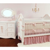 Dozen Roses Crib Bedding Set