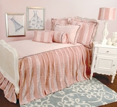 Dozen Roses Skirted Coverlet
