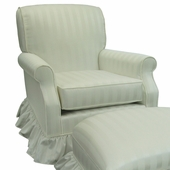 Elegance Adult Club Glider Rocker Chair - Foam or Down