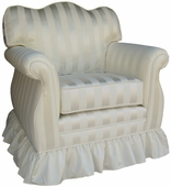 Elegance Adult Empire Glider Rocker Chair - Foam or Down