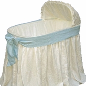 Ella Bassinet with Blue Bow