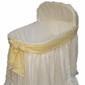 Ella Bassinet with Yellow Bow