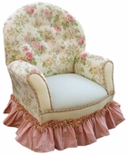 English Bouquet Child Queen Anne Chair