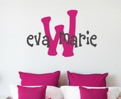 Eva's Custom Personalized Wall Decal