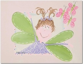 Fairy Alexa Gallery Wrapped Stretched Giclee Canvas - Brunette