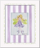 Fairy Custom Framed Giclee Print - Blonde