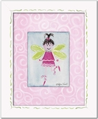 Fairy Custom Framed Giclee Print - Brunette