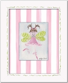 Fairy Custom Framed Giclee Print - Light Brown