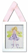 Fairy Framed Giclee Print - Blonde