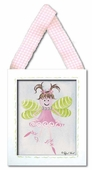 Fairy Framed Giclee Print - Light Brown
