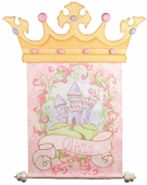 Fairy Princess Hand Painted Canvas Banner