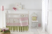 Fairyland 3-Piece Crib Bedding Set