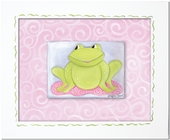 Faith Frog Custom Framed Giclee Print