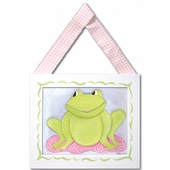 Faith Frog Framed Giclee Print