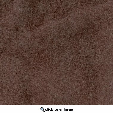 Faux Suede Chocolate Upholstery Fabric