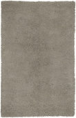 Feather Gray Aros Hand-Woven Shag Rug
