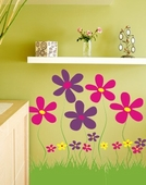 Field of Flowers Custom Wall Decal