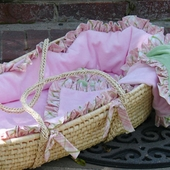 Fit for a Princess Moses Basket