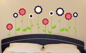Flower Garden Custom Wall Decal