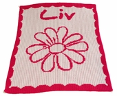 Flower Personalized Blanket