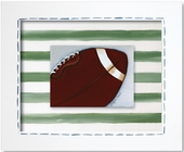 Football Custom Framed Giclee Print
