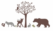 Forest Critters Custom Wall Decal