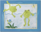 Frog Pond Gallery Wrapped Stretched Giclee Canvas