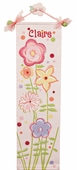 Fun Flowers Canvas Growth Chart