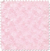 Fuzzy Swirl Light Pink Fabric