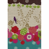 Garden Poppies Fabric