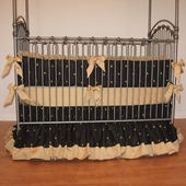 Geaux Saints Crib Bedding
