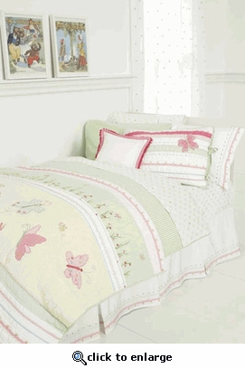 Gingham Check Green Duvet Cover