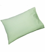 Gingham Check Green Standard Pillowcase