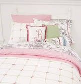 Gingham Check Pink Duvet Cover