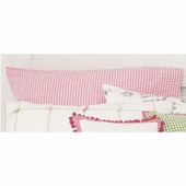 Gingham Check Pink Standard Pillowcase