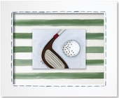 Golf Custom Framed Giclee Print