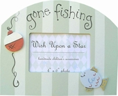 Gone Fishing Picture Frame