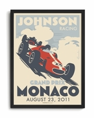 Grand Prix Custom Framed Art