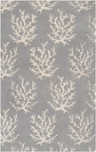 Gray Reef Escape Hand-Tufted Rug