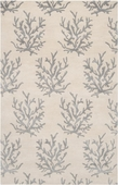 Gray Reef Reverse Escape Hand-Tufted Rug