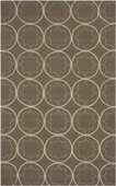 Gray Sage Scope Rain Hand-Hooked Outdoor Rug