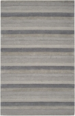 Gray Shades Stripes Mystique Hand-Crafted Rug