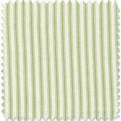 Green Apple Ticking Fabric
