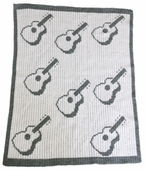 Guitars Customized Blanket