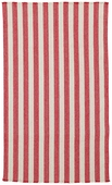 Hampton Rug - Red Stripe
