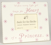 Heart of a Princess Picture Frame