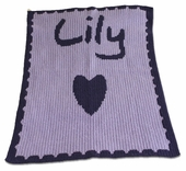 Heart Personalized Blanket