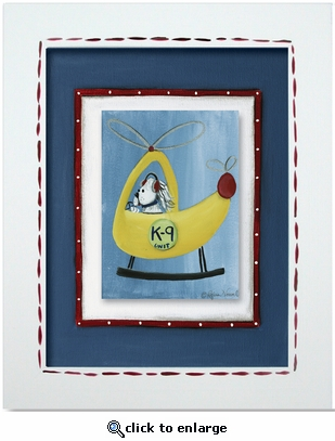 Helicopter Custom Framed Giclee Print