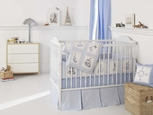 High Seas 3-Piece Crib Bedding Set