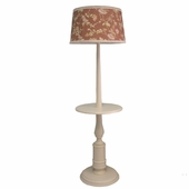 Honey Elodie Baldwin Floor Lamp with Table Top